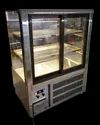 Straight Glass Cooling Display Counter