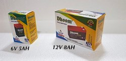 Dhoom 12 V Rechargeable Battery