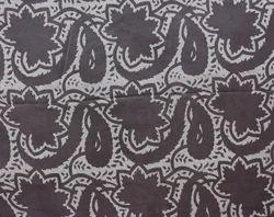 Floral Hand Block Print Batik Cotton Fabric