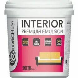 Colorchem Interior Premium Emulsion Paint, Packaging Size: 20 Ltr