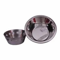 Round Serving Bowl Stainless Steel Bowl