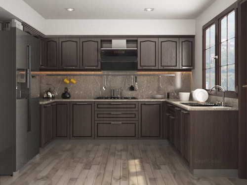 Charming U Shaped Modular Kitchen