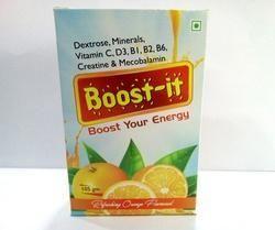 Dextrose,Minerals,Vitamin C, D3 ,B1 ,B2,B6,Creatine & Mecobalamin