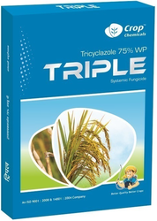Tricyclazole 75% WP, Packaging Type: Packet