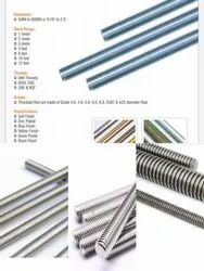 Gi Threaded Rods, Size: 6mm 8mm 12mm 16mm