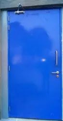 Blue Pyran Non-Fire Rated Steel Door, Size/dimension: 1200 Mm X 2100 Mm , finish Type: Glossy