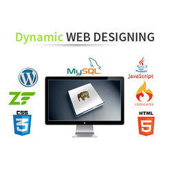 Dynamic Website Development Services, PAN India