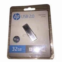 USB 2.0 32GB HP Pen Drive, Model Number/Name: v210w