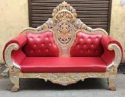 Wooden Modern Jaimala Couch Sofa, Size: 3 Sitter