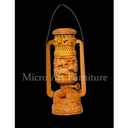 Wooden Lantern Lamp
