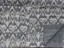 Ikat Cotton Paisley Kantha Quilt