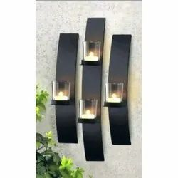 Metal Tea Light Sconces Candle Wall Hanging, For Home Decor