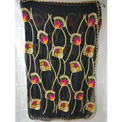 Nazamin Embroidered Dupatta
