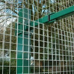Football Stainless Steel Half Net Cages
