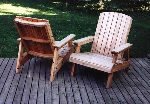 Ordinaire Wooden Deck Chairs