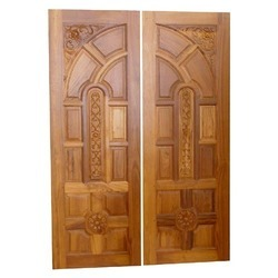 Teak Wood Front Door At Rs 750 Square Feet Teak Wood Doors Id