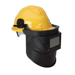 Welding Helmet With Safety Helmet