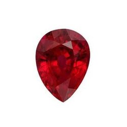 Red Pears Ruby Gemstone