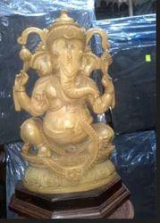 Ganesha Wooden Craft
