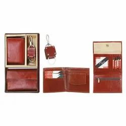 Goat Leather 3 in One Gift Set