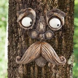 Tree Face Garden Decoration
