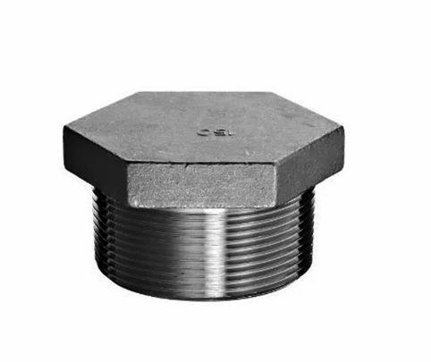 Galvanised Head Plug Ings Size 1 Inch