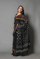 Indigo Printed Sarees