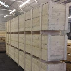 Wooden Container for Warehouses