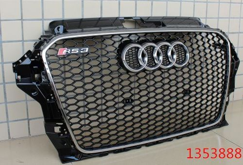 Audi A3 Front Grill Rs3 Style Look (premium Car Accessories Dealkarde )
