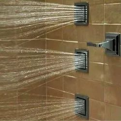 Brass Rectangular Jaquar Body Shower