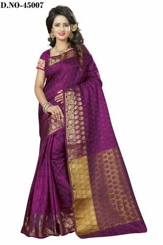 aedfd55d7a Multicolor Mirror Work Designer Wedding Party Wear Silk Saree, Rs ...
