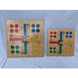 Wooden Ludo Game Board