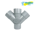 Pvc Finolex Double Y Door For Structure Pipe, Size: 2 Inch