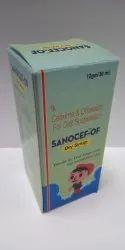 Sanocef-OF Cefixime & Ofloxacin Oral Suspension Dry Syrup