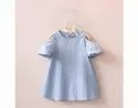 Kids Cotton & Recycle Polyester Frock apparels