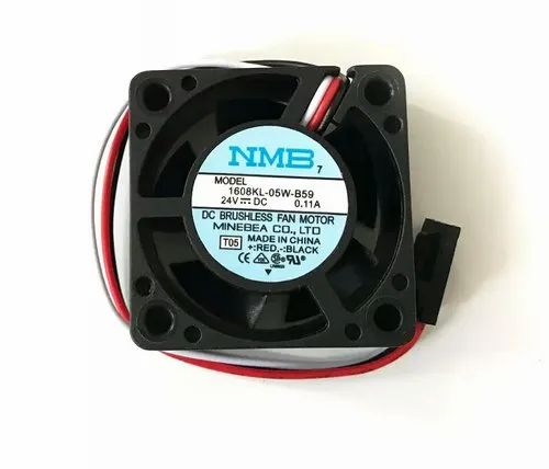 NMB Cooling Fan 1608KL-05W-B59 24VDC 0.11A, For Industrial Machine