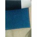 Blue Jute Fabric
