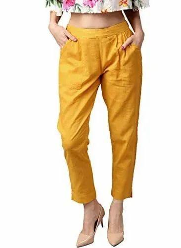 Cotton Regular Fit Women Pants Rs 250 Piece D To D Lifestyle Id 21643410033 Regular fit / triangular back cut out shop now >>. women pants