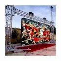 P10 Full Color LED Video Wall Advertising Display Big Screen For Outdoor Uses