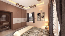 Bedroom Wood Interior Ceiling