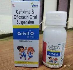 Cefixime Trihydrate I.P. 50 mg , Ofloxacin Dry Syrup