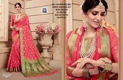 Rachna Banarasi Silk Saawariya Catalog Saree Set For Woman 6