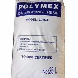 Polymex C25 NA Ion Exchange Resin