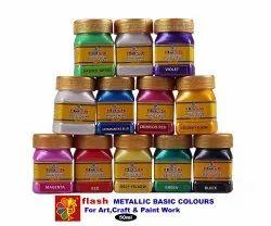 Acrylic Metallic Basic 12 Colours Set