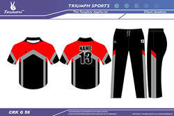 Customized Cricket Uniforms