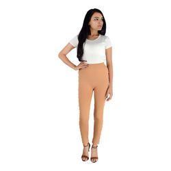 Skin color single white moti leggings