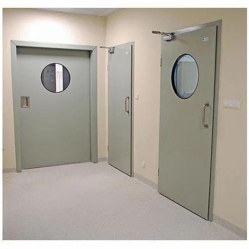 Grey Hinges Acoustic Door, Size/Dimension: 900x2100