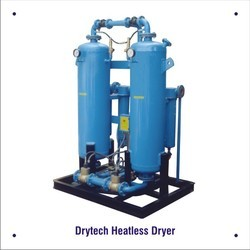 Drytech Heatless Compressed Air Dryer, Minimum Output Dew Point (in C): -30 C And -40 C