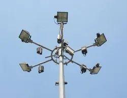 12.5M LED HIGHMAST POLE