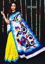 Mulmul Cotton Mom Chitra Batik Printed Sarees